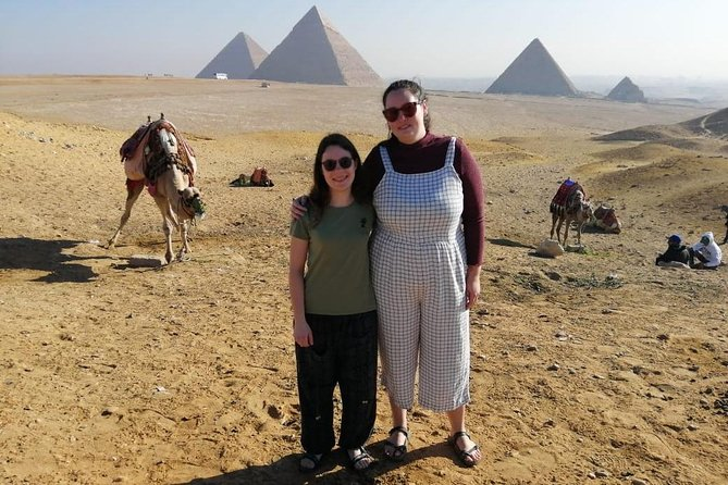 day trip to Giza Pyramids , Evening Light Show with Hotel Transport