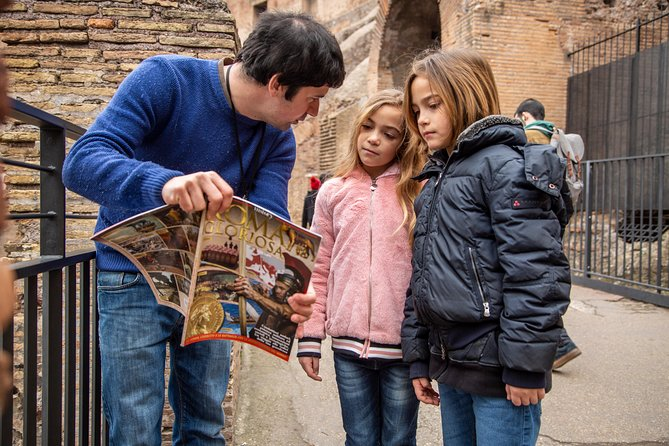 Best of Rome Full-Day Private Tour for Families with Kids