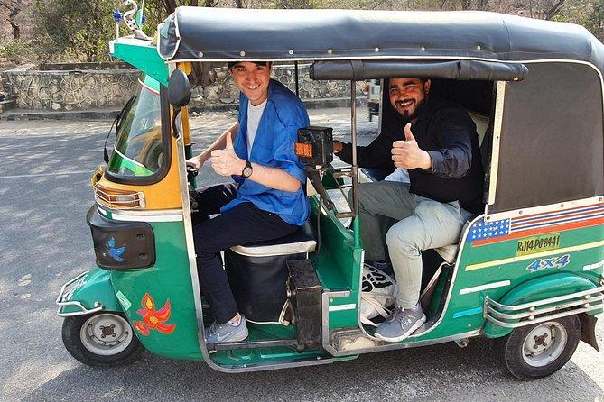 Excursión de un día a Jaipur en tuk tuk con conductor de habla inglesa con recogida gratuita.