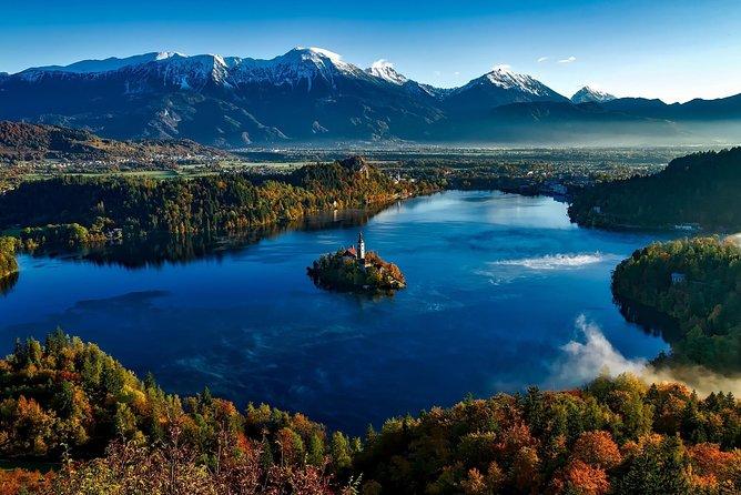 Private trip from Ljubljana to Lake Bled, Lake Bohinj and Waterfall Savica