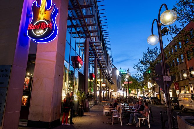 Zonder wachtrij bij het Hard Rock Cafe in Keulen inclusief maaltijd