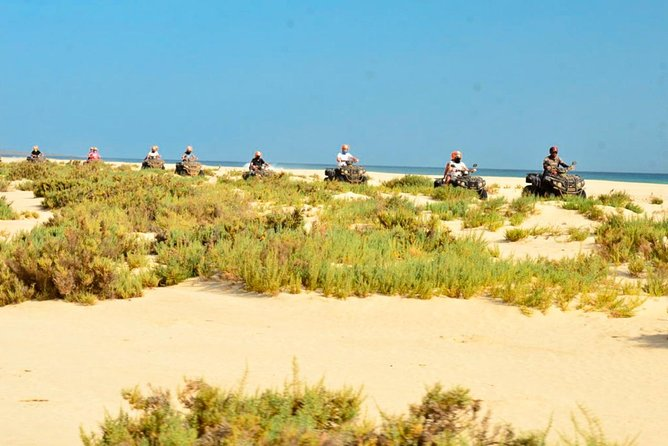 Boa Vista Island: Full-day ATV Bike Adventure with lunch