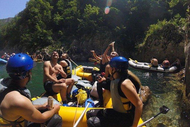 Rafting on River Neretva