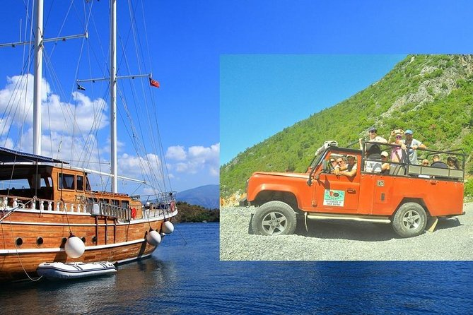 2 in 1: Jeep Safari and Boat Trip with lunch