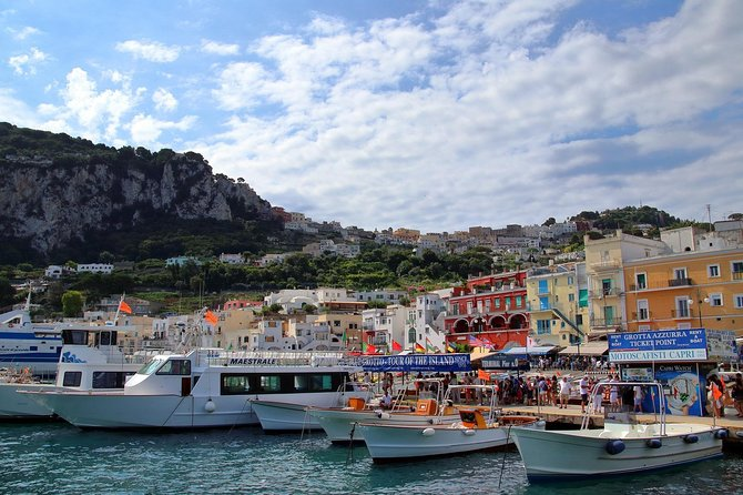 Capri and Blue Grotto Day Tour