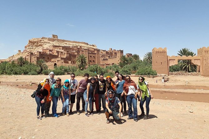 Cultural and Heritage 2-Day Tour from Marrakech to Ouarzazate and Ait Benhaddou