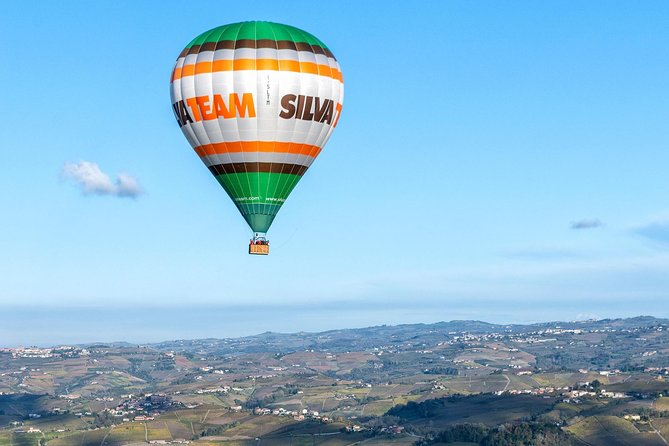 Hot Air Balloon Flight to Barolo, Brunch in Winery, Transfer from Turin Private Van