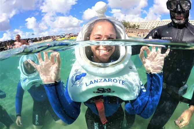 Sea Trek (exclusief in Lanzarote)