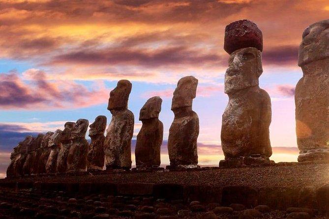 Hinariru Route in Easter Island