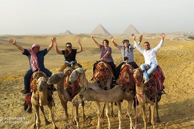 A private camel ride at Sunset ,Dinner & Sound & Light Show( incredible Tour )