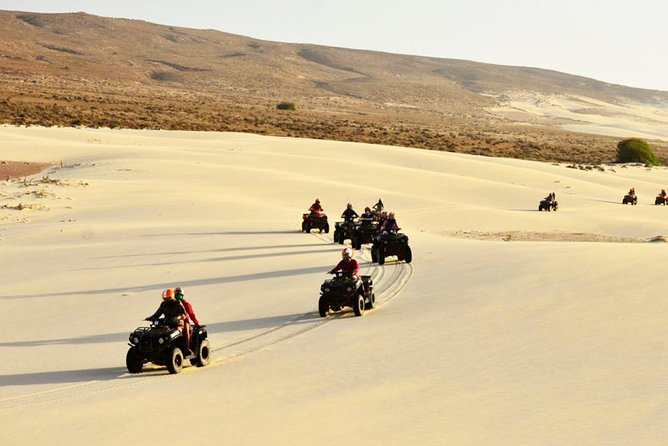 2 Hours Boa Vista Island West Side ATV BIKE Tour from Rabil