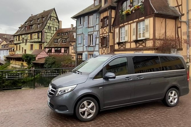 Airport Zurich from or to Colmar  Transfer with private professional driver