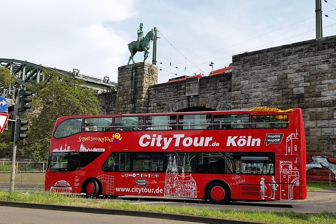 City Tour Cologne in a double-decker bus