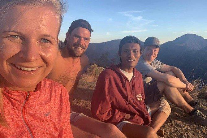 Mount Rinjani Trekking Trip Group Sharing Senaru Crater Rim