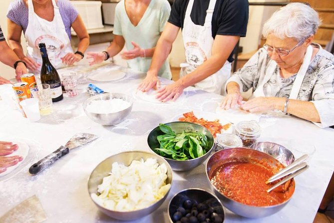 Pizza & Gelato; Cooking Class in Florence