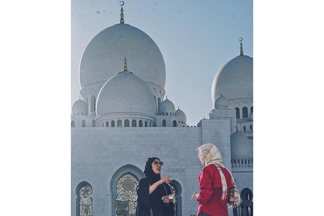 Private Sheikh Zayed Grand Mosque Tour