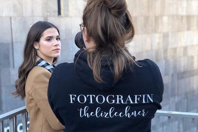 Influencer photo shoot through Vienna
