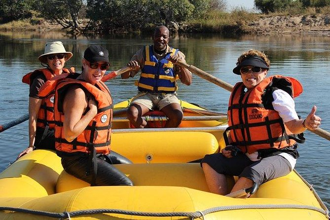 Raft float upper zambezi