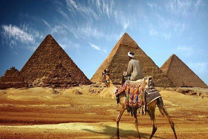 Giza Pyramids, Valley temple and Sphinx