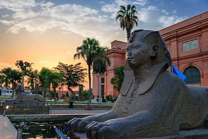 Day Tour To Pyramids & Museum From Port Said