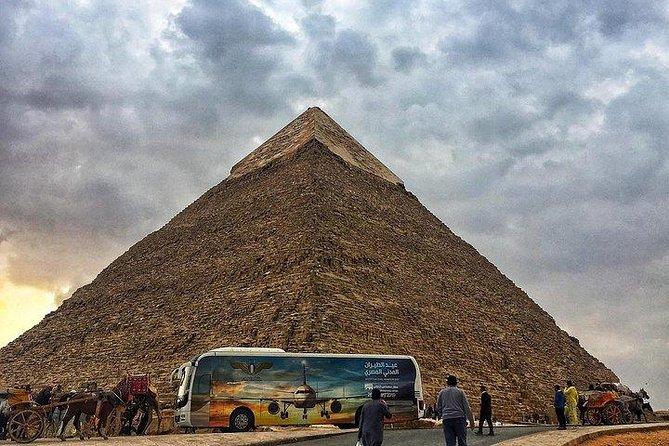 Cairo Stopover Tour Visit Giza Pyramids Egyptian Museum Old Cairo