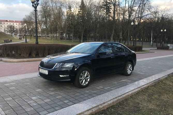 Transfer Minsk Airport - City Center by Skoda with English-speaking Driver