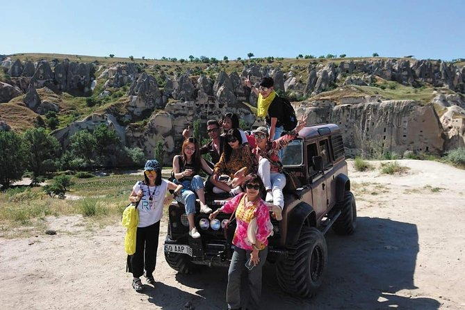 3-Hours Cappadocia Jeep Safari Tour from Goreme with Pick Up
