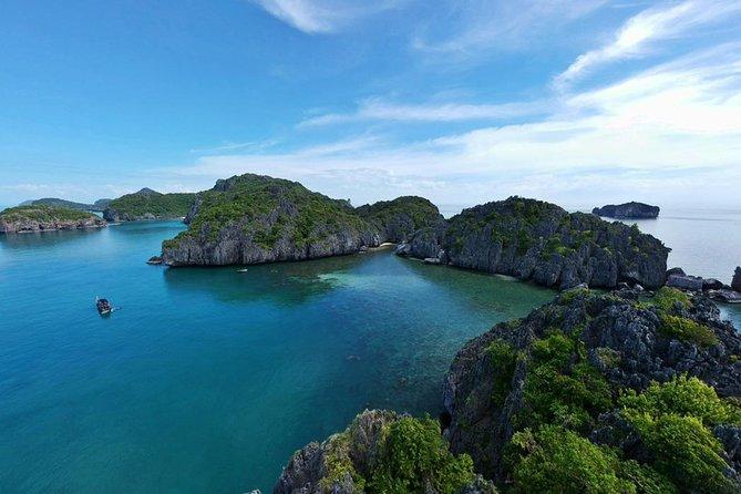 Ang Thong National Marine Park Speedboat from Koh Samui