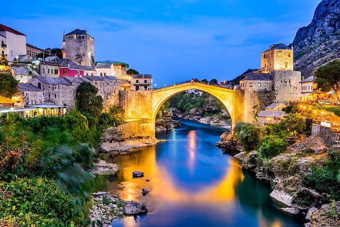 Transfer from Sarajevo to Kotor+Herzegovina tour