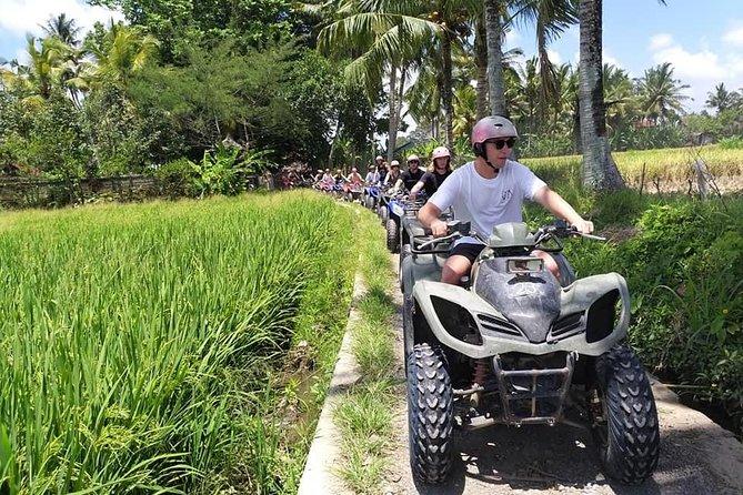 Bali ATV Ride With Tunnel, Waterfall, Rice field, Jungle Track