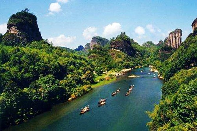 2-Day Mountain Wuyi Private Flexible Tour from Xiamen by Bullet Train