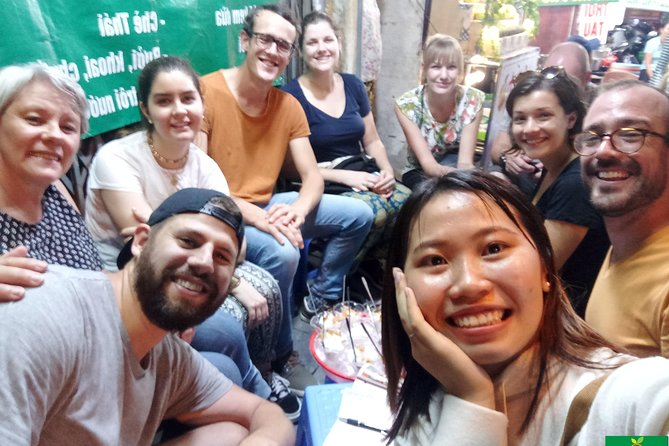 Hanoi 3 Hours Evening Street Food Tasting Experience
