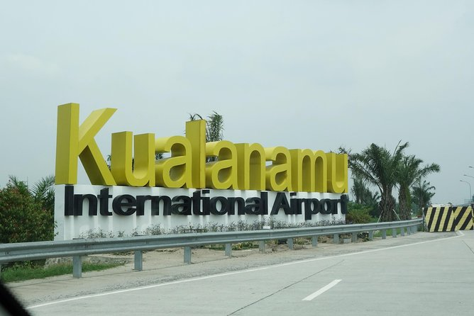 Private car Transfer From Airport to Tangkahan