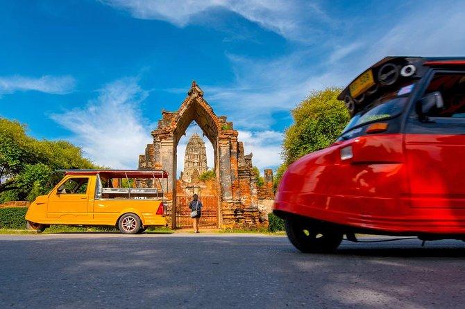 The Ancient City of Ayutthaya Half Day Tour by Tuk Tuk