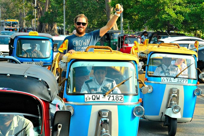 4 Hours Private Tuk Tuk Tour in Colombo