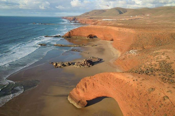 Spend 1 Night in Sahara desert and visit Legzira beach