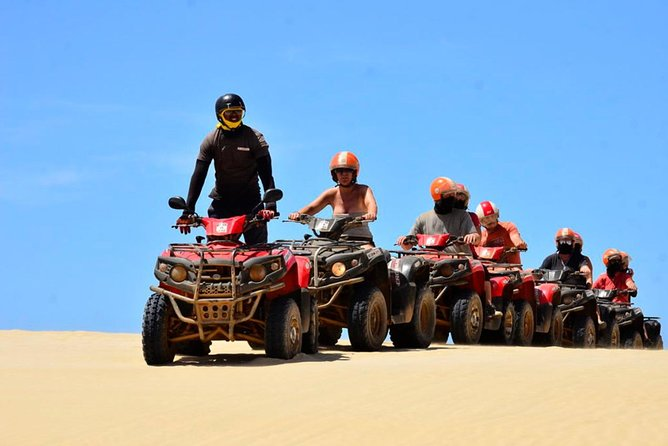 Boa Vista Island: Half-day Quad Tour to Santa Monica Beach