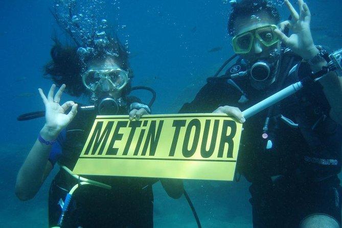Scuba Diving in Aegean Sea in Kusadasi