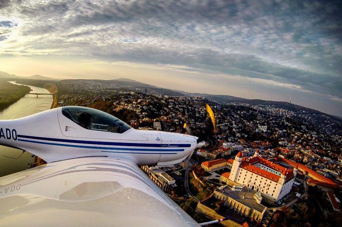2-Hour Private Sightseeing flight over Bratislava
