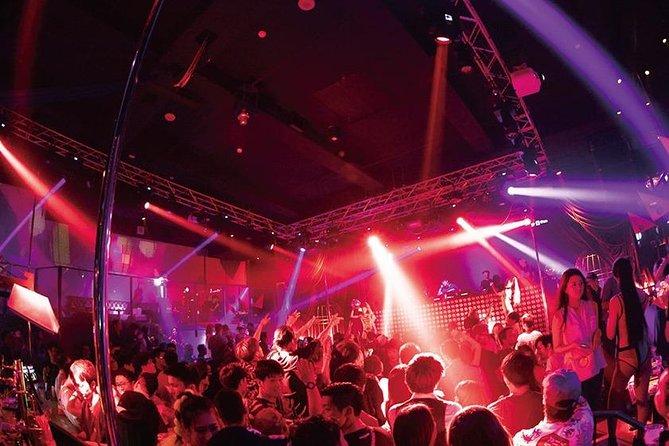 Osaka Dotonbori 5 Night Clubs Pass