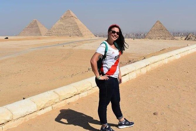 Giza Pyramids, Sphinx Temple, Memphis and Sakkara Day Trip