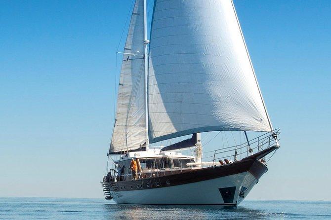 Crewed Motor Sailer Euphoria I Full day private cruise