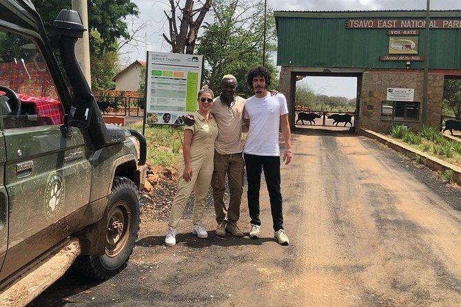 Tsavo East 1 Day Safari, Beach To Beach In 4wd Jeep