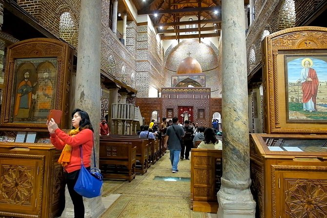 Half-Day Old Coptic Cairo Private Tour with Pick Up and Lunch