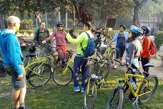 3.5-Hours South Delhi Private Bike Tour with Lodi Art District
