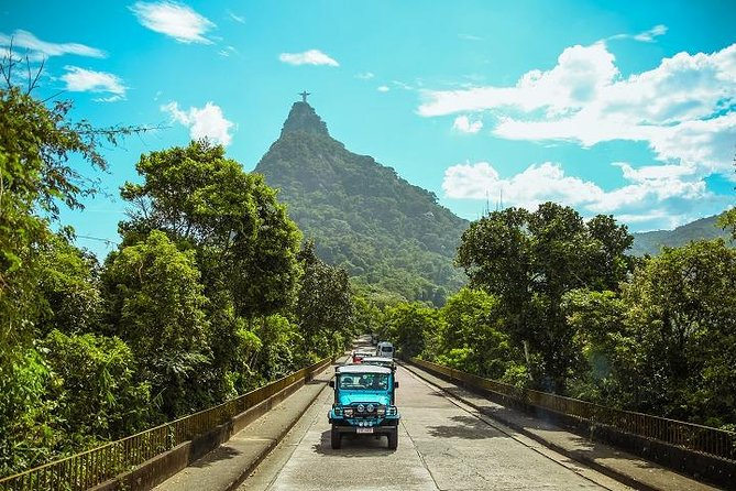 Christ the Redeemer and Santa Teresa by Jeep