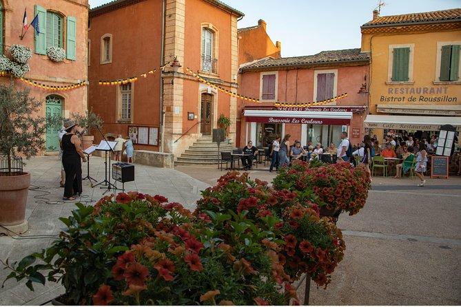 Halve dag heuveltop dorpen van Luberon Tour vanuit Avignon