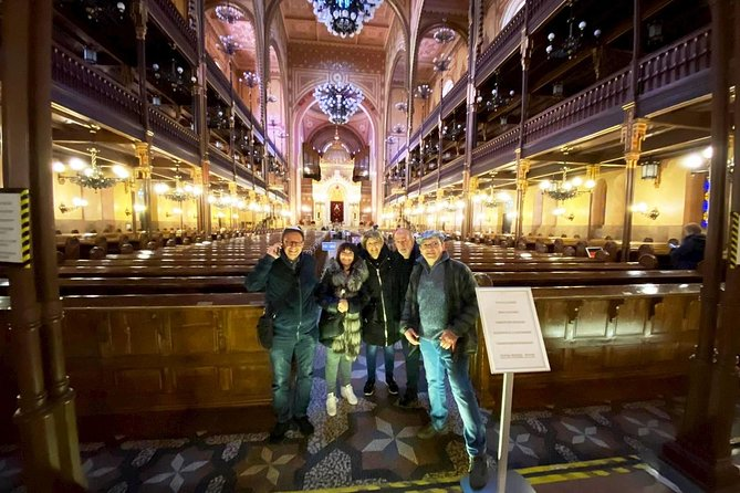 Jewish History and Heritage Walking Tour of Budapest