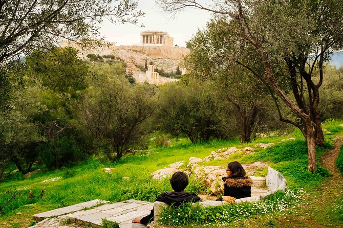 Photo-shoot in sacred Pnyka hill, Athens