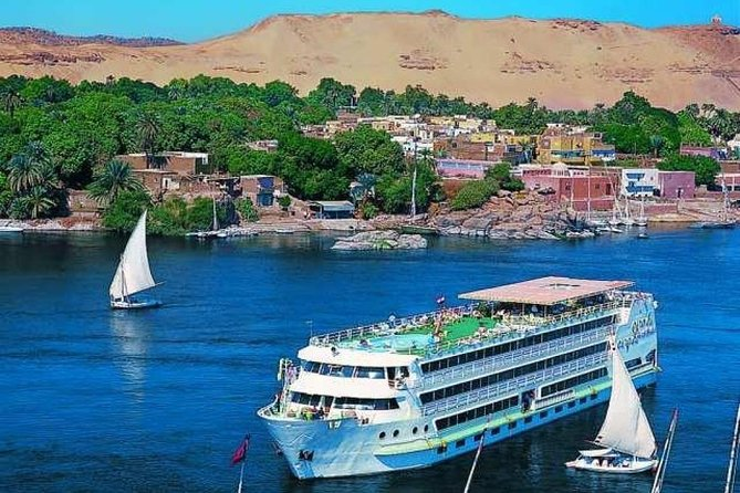 Cairo : River Nile Story ( 6 Days Nile Cruise Aswan to Luxor , Sleeper train )